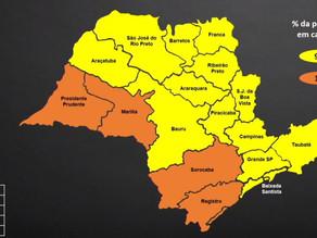 Estado endurece passagem para a Zona Verde, mas Baixada Santista segue 'amarela'
