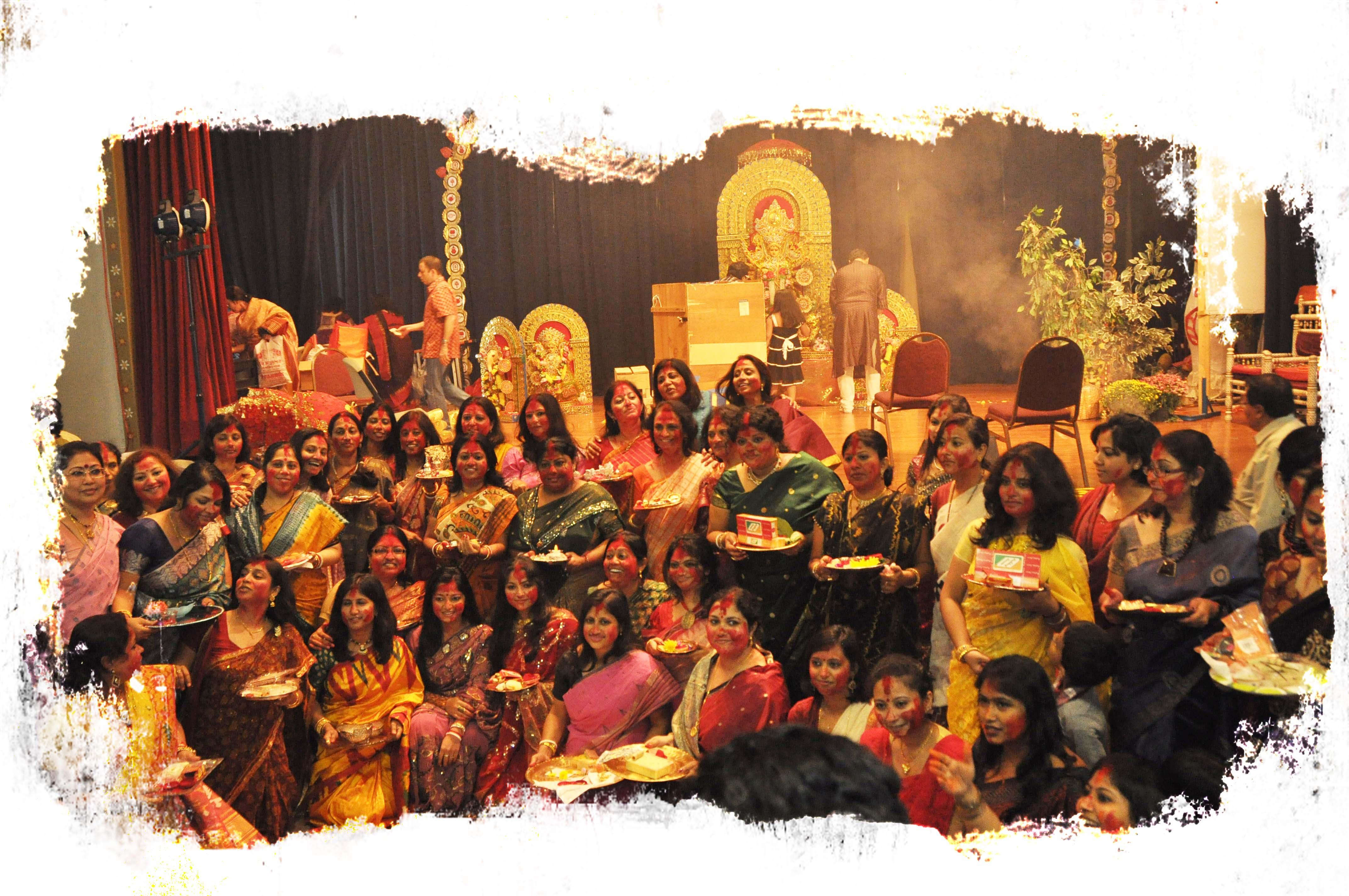 Probasi Charlotte Durga Puja
