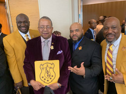 Brothers with MHF Lonnie Spruill