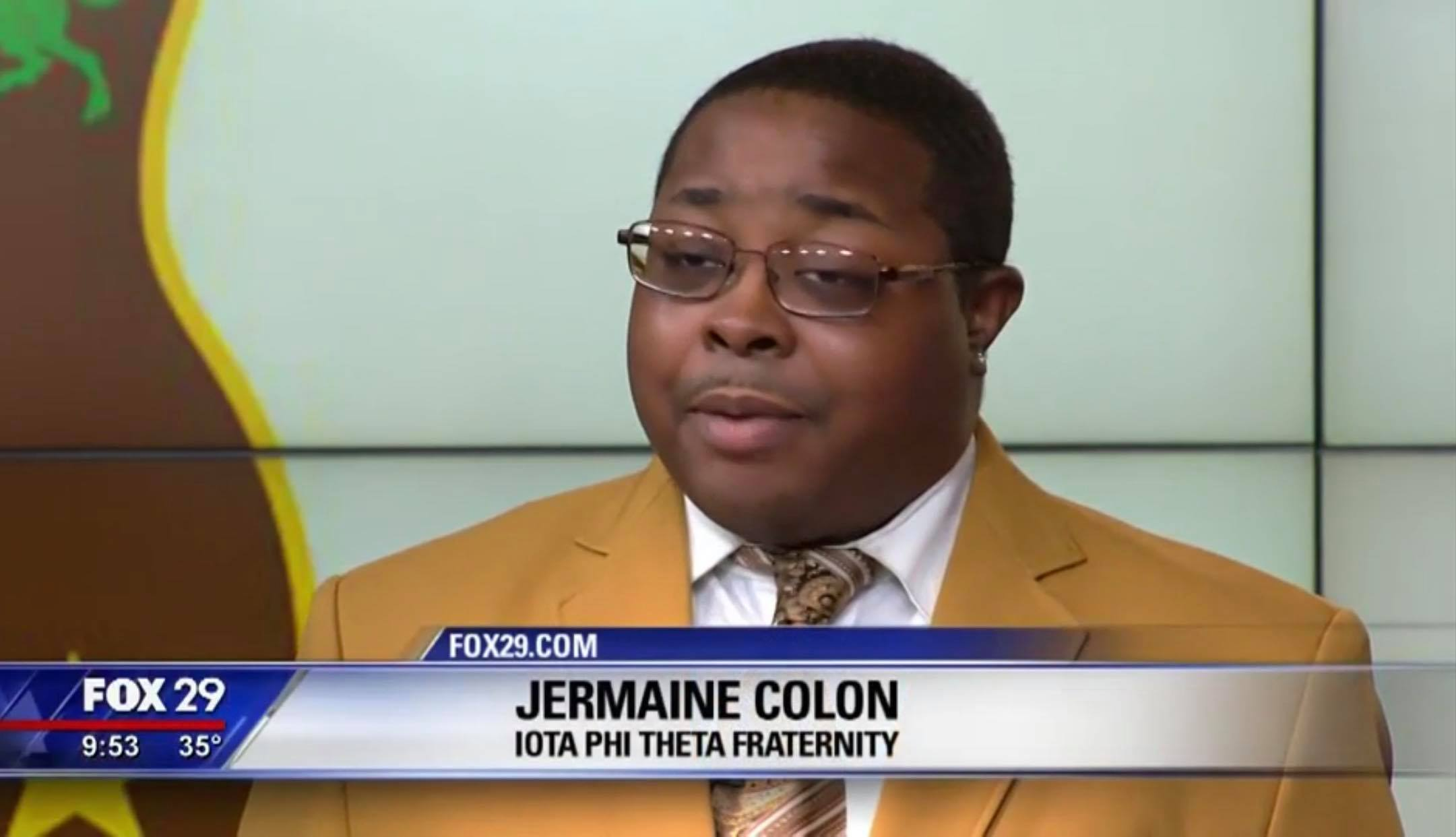 ACR Regional Secretary on Fox 29