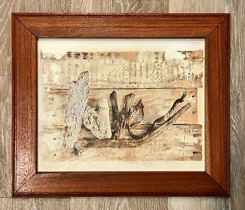 Driftwood Art: Canvas Print
