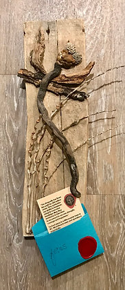 Driftwood Art: Focus Dragonfly