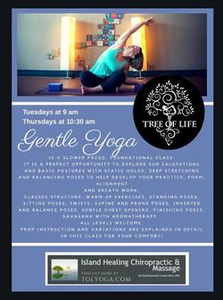 Gentle Yoga May 2018b