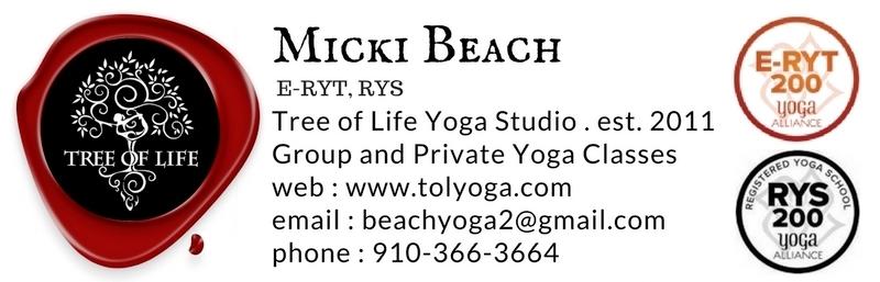 Micki Beach, E-RYT, YWT