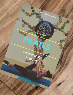 Pilates: Mat (all levels)