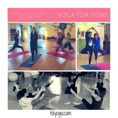 Teen Yoga Ages 12-17