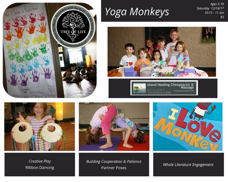 Yoga Monkeys Classes