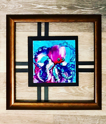 Alcohol Ink: Octopus