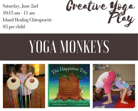 Yoga Monkeys Ages 5-11