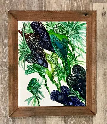 Alcohol Ink: Bromeliad Bursts