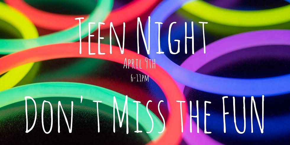 Teen Night - Glow/Dodgeball