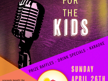 Join us for the 2nd Annual Karaoke for the Kids
