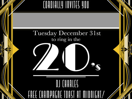 Join us for New Years Eve!