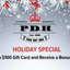 December Gift Card Special