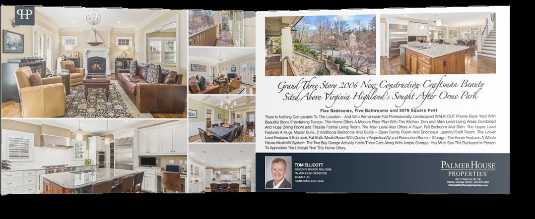 Real Estate Flyer Spread