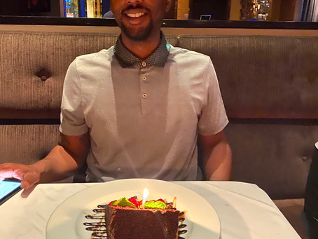 His Birthday, His Style: My Husband's 31st