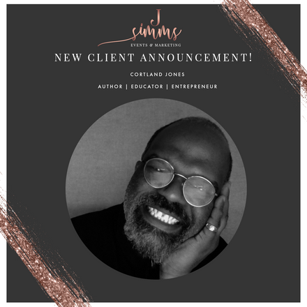 New Client Announcement: Cortland Jones