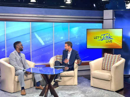 {Client News} Xavier Epps Shared Tips for National Savings Day on Let's Talk Live DC!
