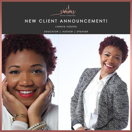 New Client Announcement: Linnita Hosten