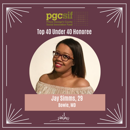 Founder Jay Simms Honored As Top Forty Under 40!