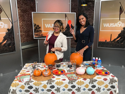 Jay Shared Tips for Hosting a Pumpkin Carving Party with Wake Up Washington!