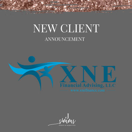 {New Client Announcement} J. Simms PR Welcomes XNE Financial Advising!