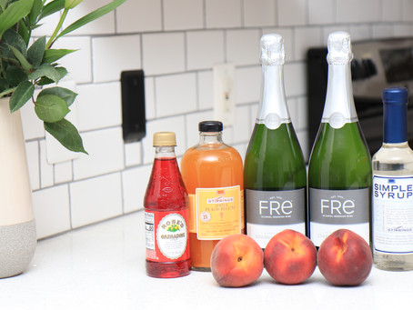 Safe Sipping: Non-Alcoholic Bellini