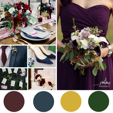Design Inspiration: Fall Wedding Mood Board
