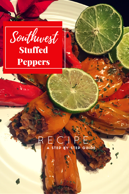 Holiday Party Guide: Southwest Stuffed Peppers