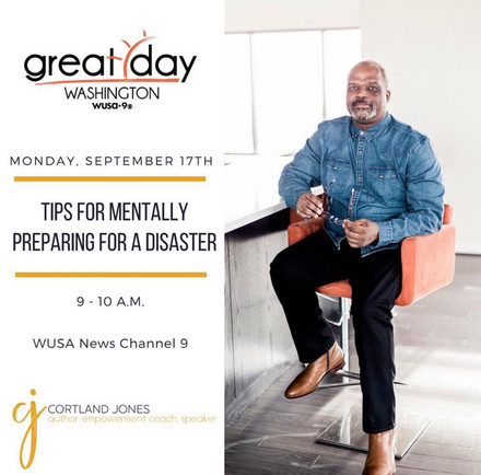 {Client News} Cortland Jones Shares Tips for Emotionally Preparing for a Disaster