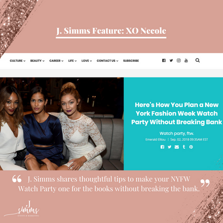 How to Host Your Own New York Fashion Week Watch Party!