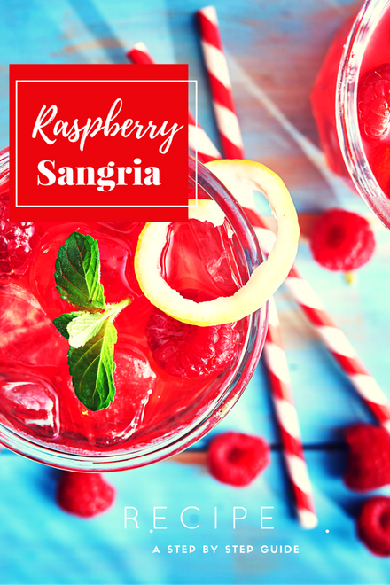 Holiday Party Guide: Raspberry Sangria