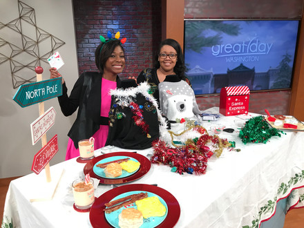 Jay Simms Shared Tips for Hosting an Ugly Sweater Party on Great Day Washington!