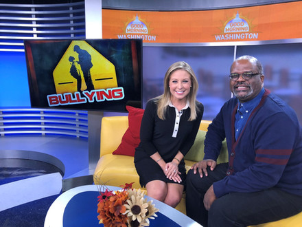 {Client News} Cortland Jones Shared Tips for Bullying Prevention on Good Morning Washington