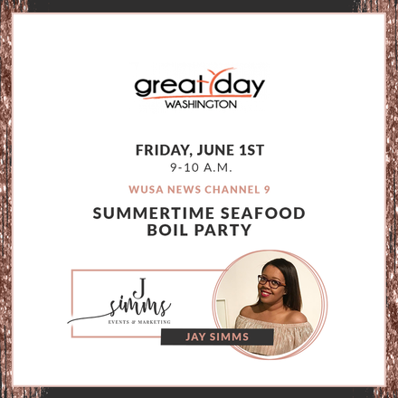 {News Segment} Jay Simms Shares Tips for Hosting Fab Seafood Boil!