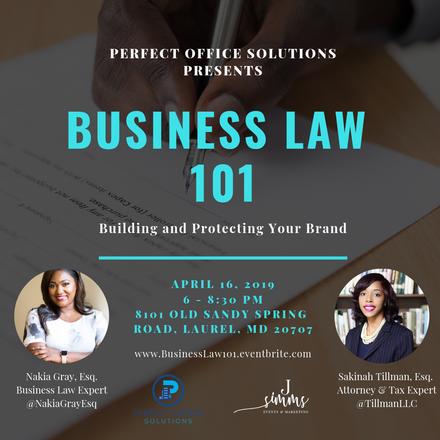 {Client Event} Business Law 101: Building and Protecting Your Brand