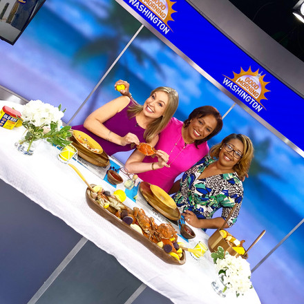 Jay Shares Tips for Hosting a Fun Seafood Feast on Good Morning Washington!