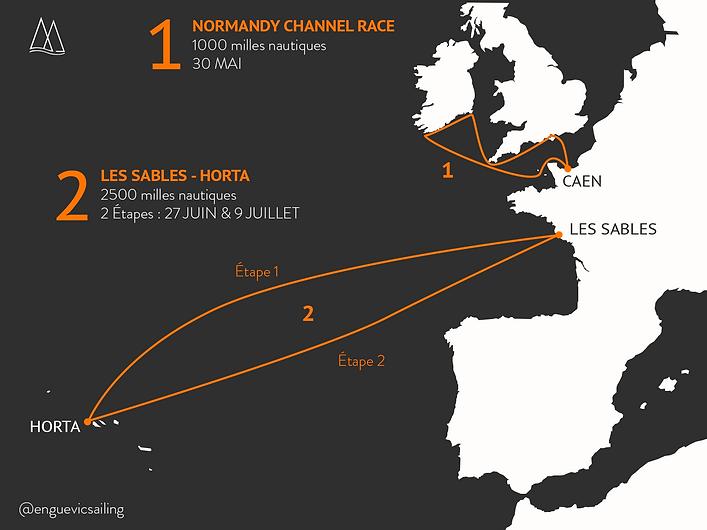 normandy channel race les sables horta c
