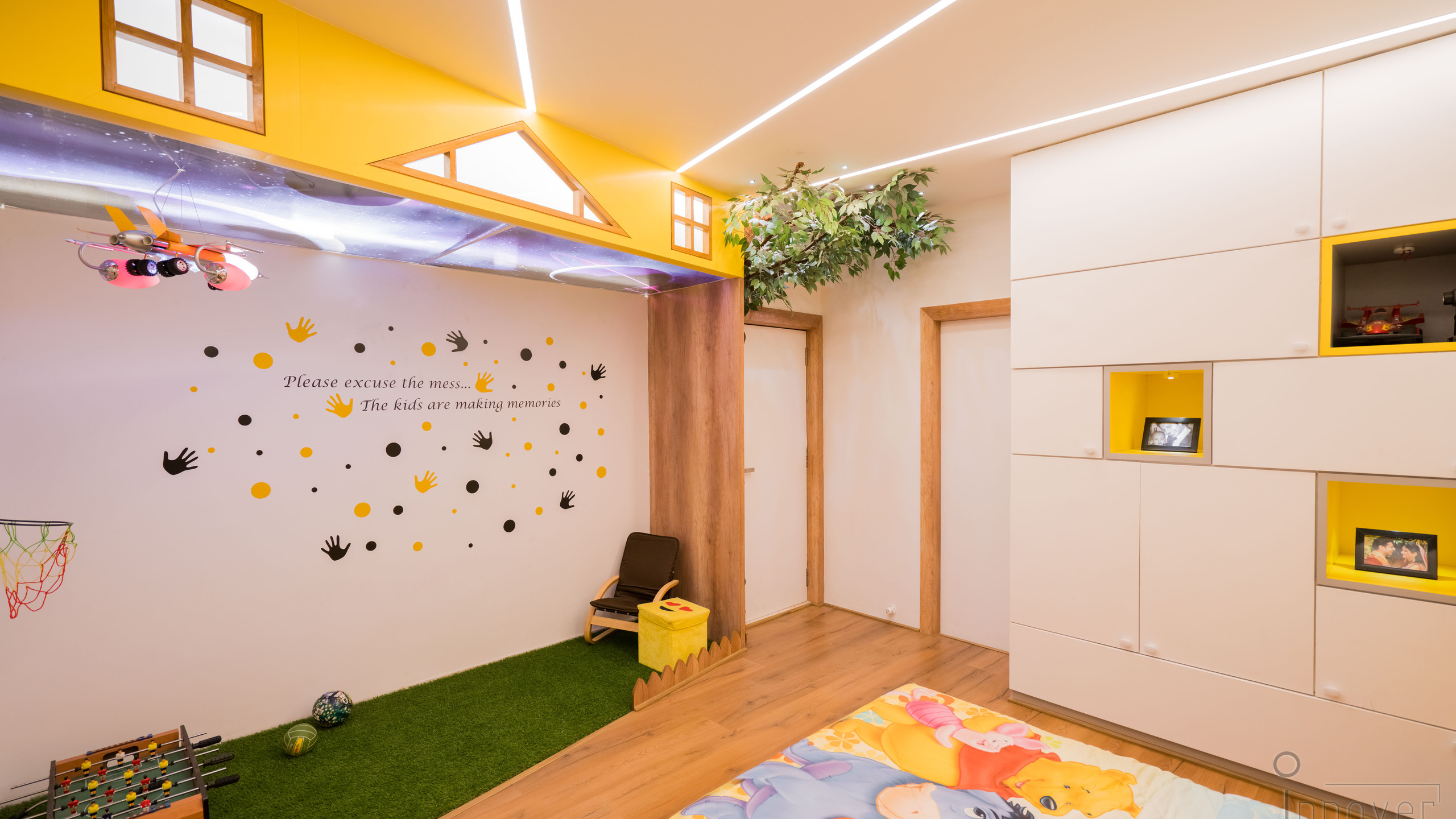 Kid's play area designed by Innover