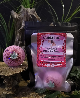 SPARTA-LOVE BATH BOMB