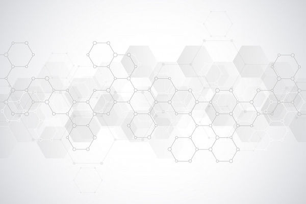 abstract-hexagons-pattern-medical-scient