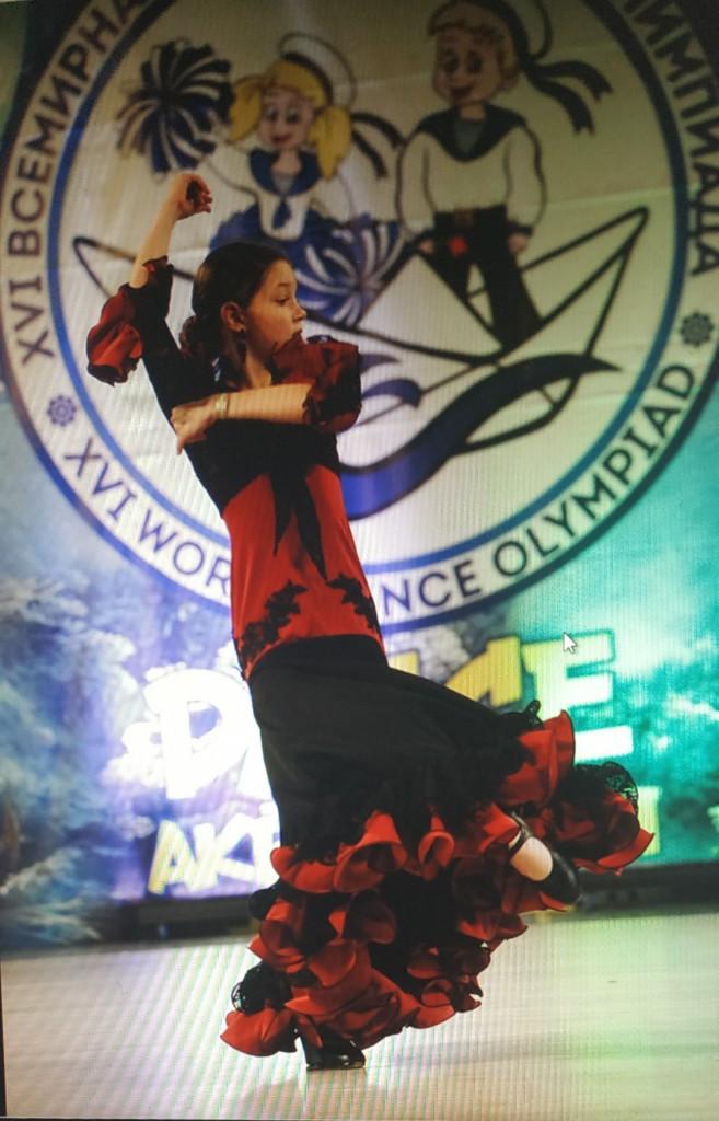 Наша победа на XVI Всемирной Танцевальной Олимпиаде