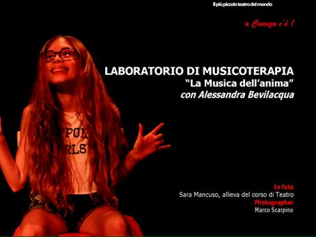 LABORATORIO DI MUSICOTERAPIA