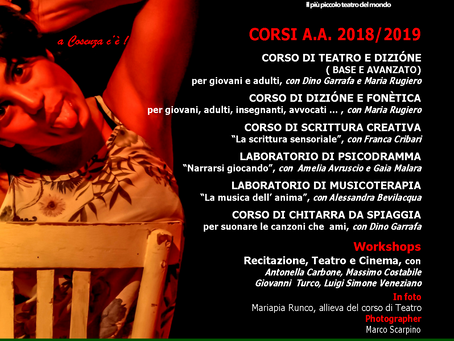 CORSI E WORKSHOP 2018/2019