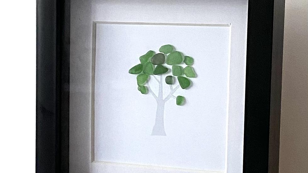 Solo Tree - Seaglass
