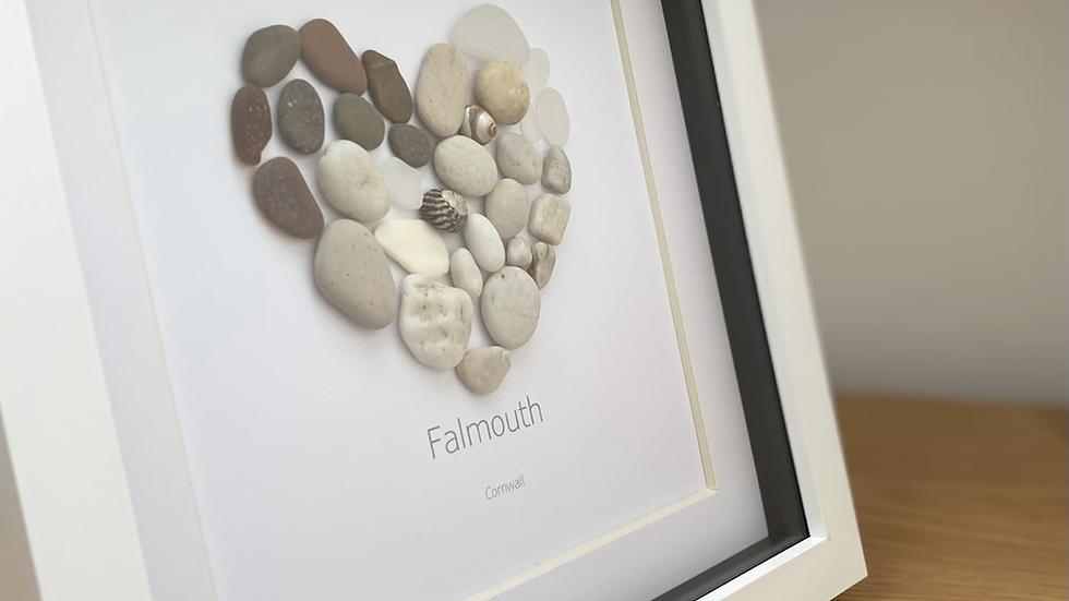 Falmouth Heart - Browns & Creams