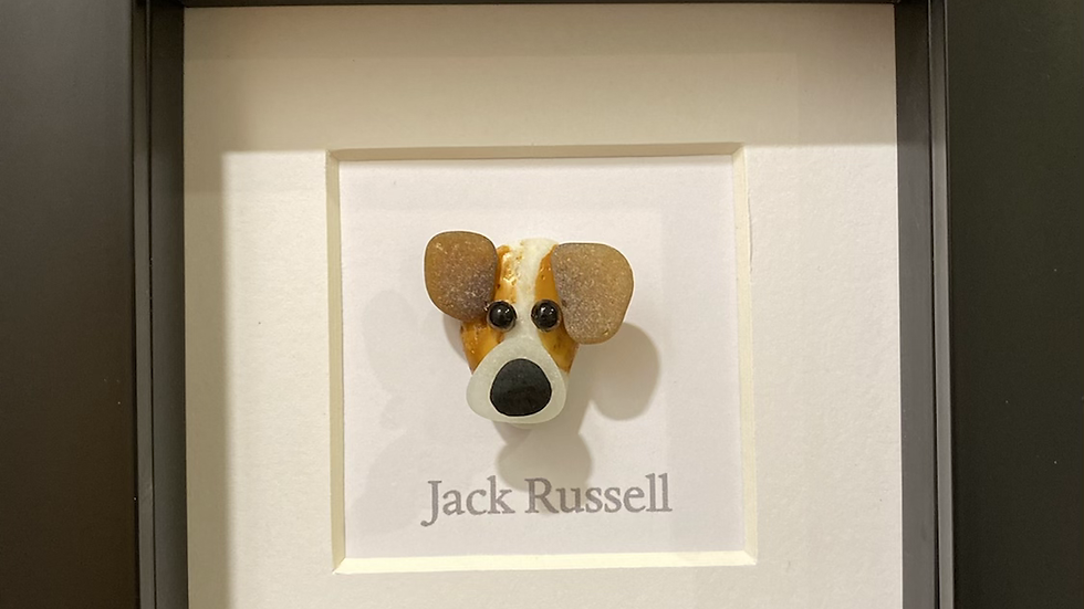 Dog Rocks - Jack Russell