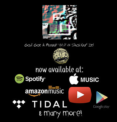 Fred E.T. God Got A Funny Way Of Showin' It! Now Streaming on Apple, Tidal, Spotify, and more!