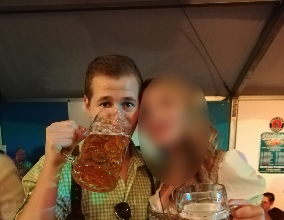 "Photo taken at a ""Oktoberfest"" in Berlin"