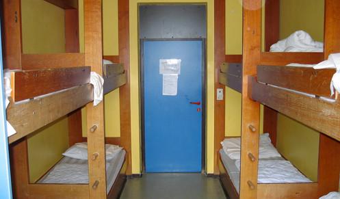 Hostel dorm in Salzuberg, Austria